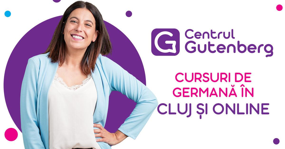 Centrul Gutenberg - Cursuri de limba germana în Cluj